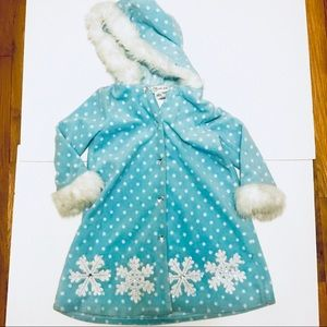 Elsa inspired coat